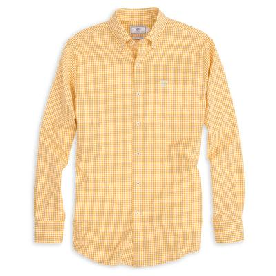 Tennessee Southern Tide Gingham Woven Shirt
