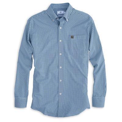 ETSU Southern Tide Gingham Woven Shirt