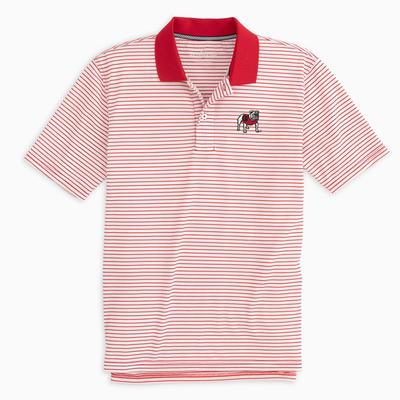 Georgia Southern Tide Gameday Pique Stripe Polo