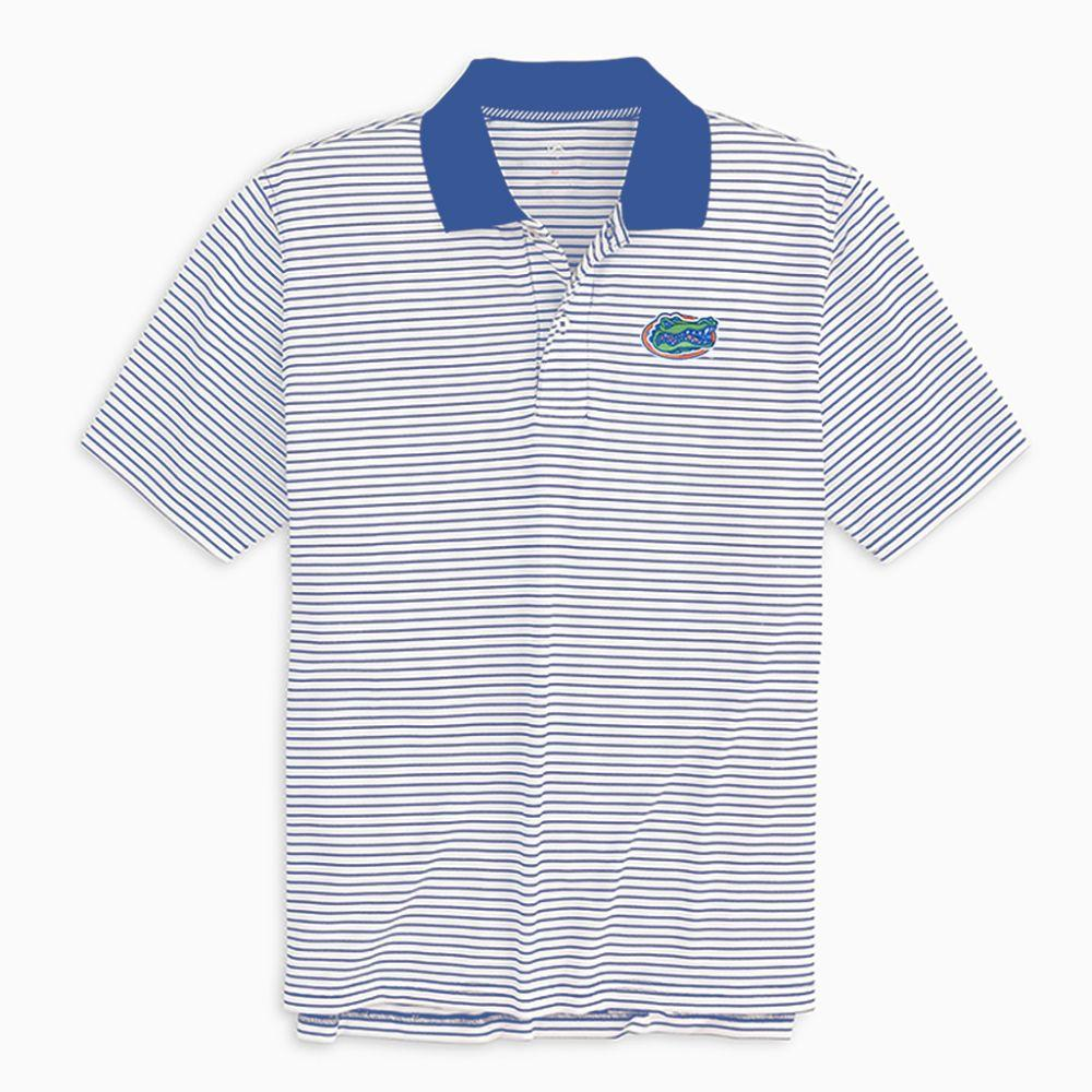 Florida Southern Tide Gameday Pique Stripe Polo
