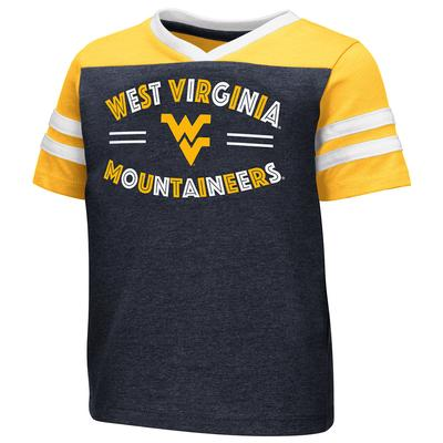 West Virginia Toddler Colosseum Good Feathers Tee