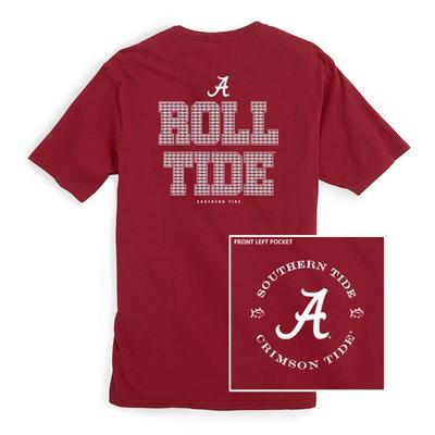Alabama Southern Tide Mini Skipjack Chant T-Shirt