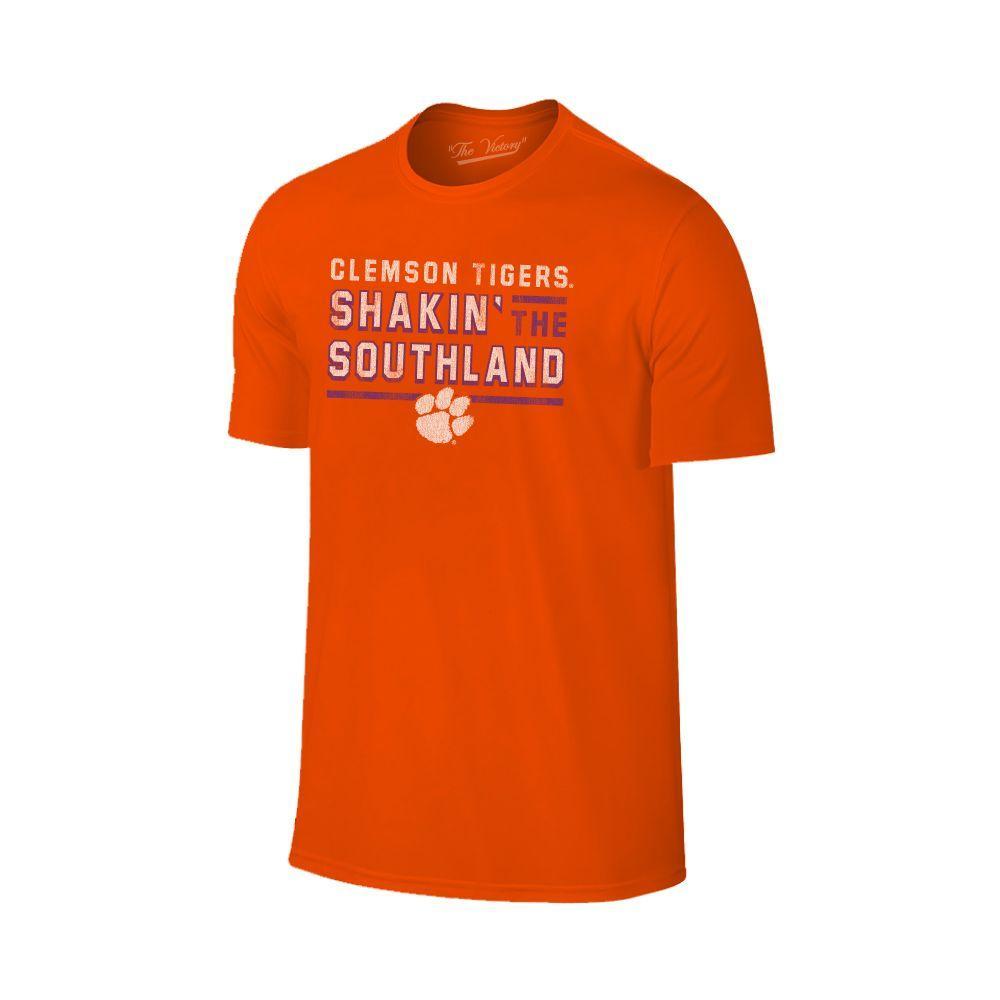 Clemson Shakin ' The Southland Band Tee Shirt