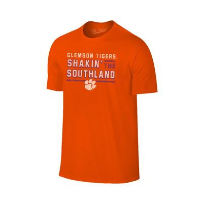 Clemson Shakin' the Southland Band Tee Shirt