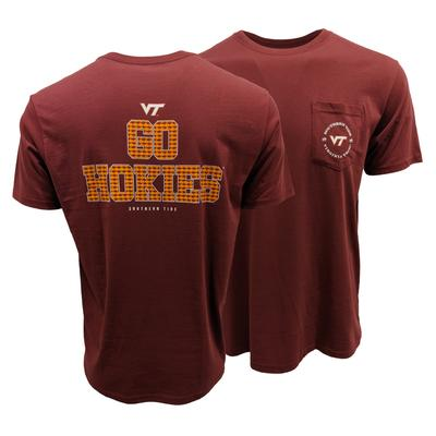 Virginia Tech Southern Tide Mini Skipjack Chant T-Shirt