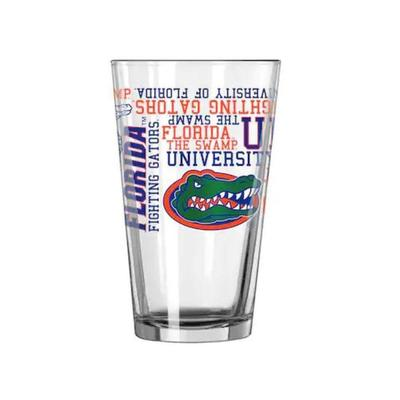 Florida 16oz Spirit Pint Glass