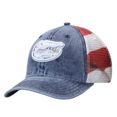 Florida Gators Patriotic Adjustable Hat