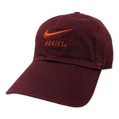 Virginia Tech Nike H86 Hokies Adjustable Hat