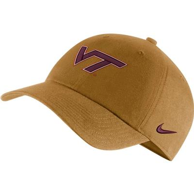 Virginia Tech Nike H86 Logo Adjustable Hat