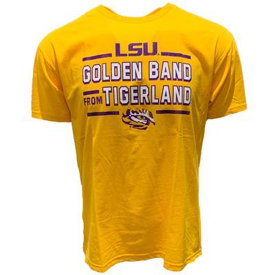 LSU Golden Band from Tigerland Tee Shirt GOLD