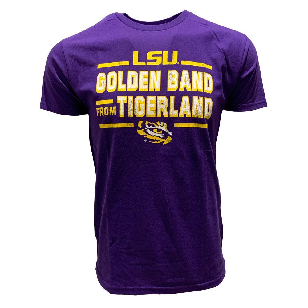 Lsu Golden Band From Tigerland Tee Shirt