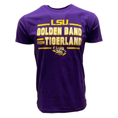 LSU Golden Band from Tigerland Tee Shirt PURPLE