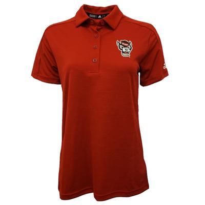NC State Adidas Women's Game Mode Polo