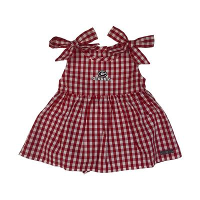 Georgia Infant Cora Gingham Dress