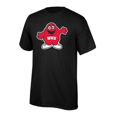 Western Kentucky Youth Big Red Giant Logo Tee Shirt BLACK