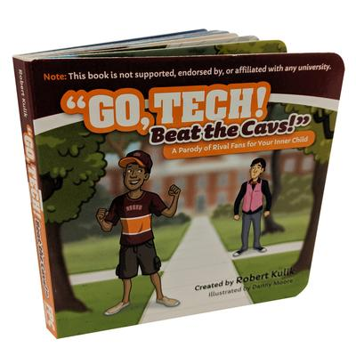 Go Tech! Beat the Cavs! Board Book