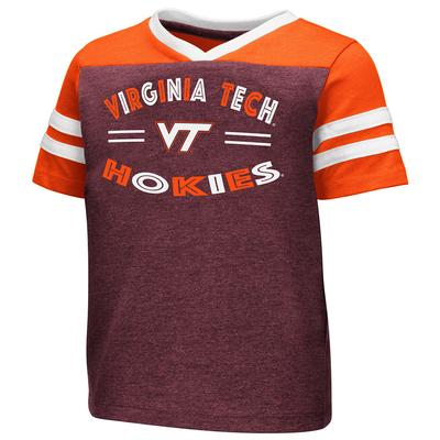 Virginia Tech Toddler Football Stripe T-Shirt
