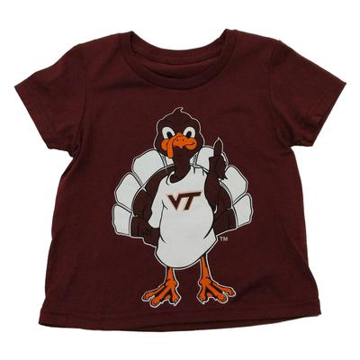 Virginia Tech Toddler Hokiebird Mascot T-Shirt