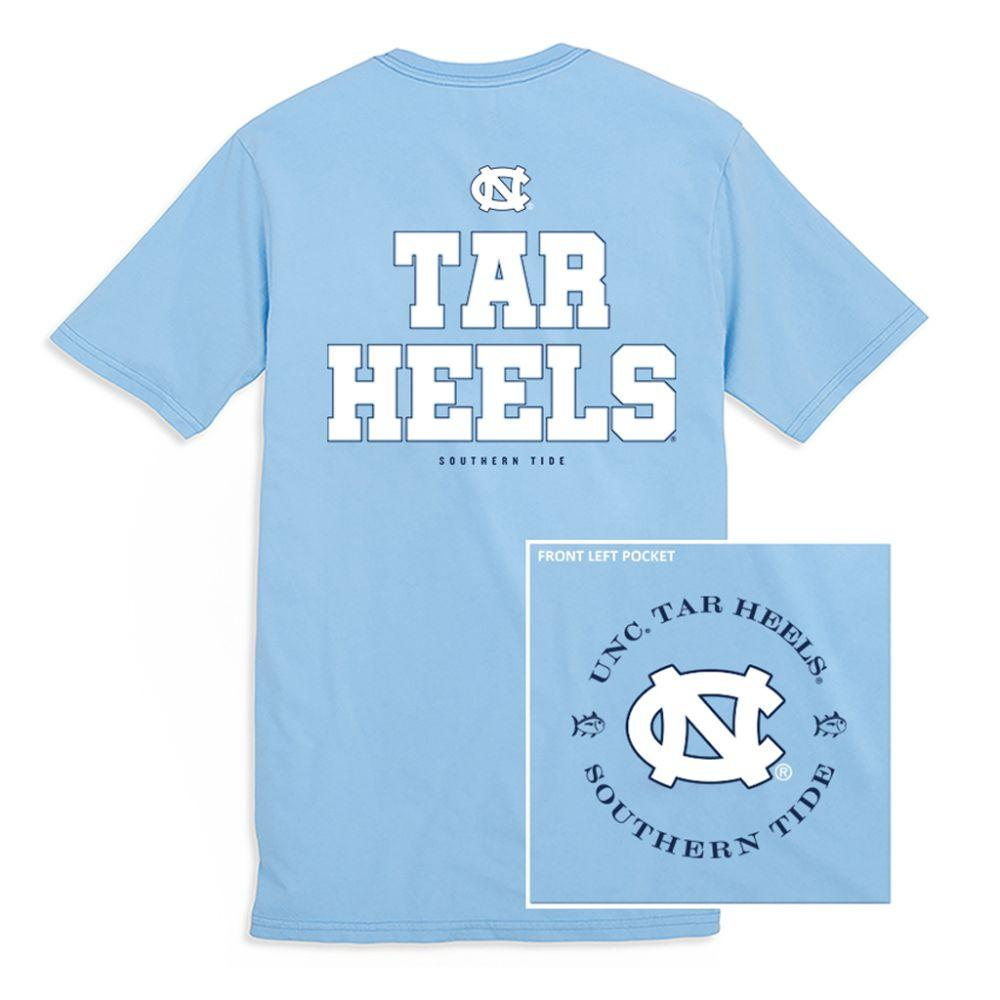 Unc Southern Tide Mini Skipjack Chant T- Shirt