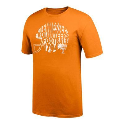 Tennessee Women's Football Helmet Tee Shirt