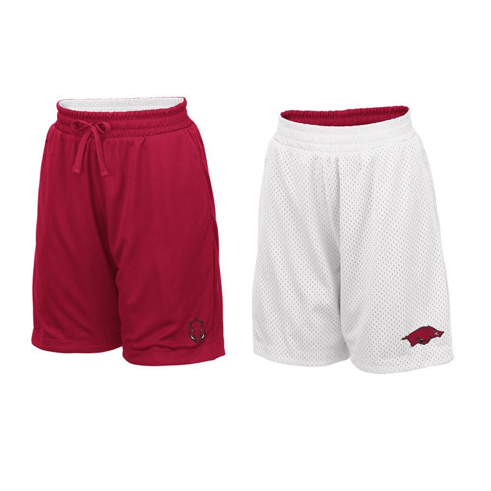 Arkansas Youth Colosseum Reversible Mesh Shorts