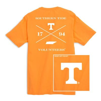 Tennessee Southern Tide College Cross T-Shirt