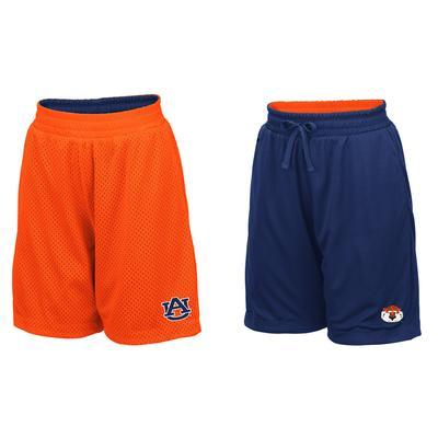 Auburn Youth Colosseum Reversible Mesh Shorts