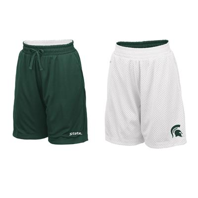 Michigan State Youth Colosseum Reversible Mesh Shorts