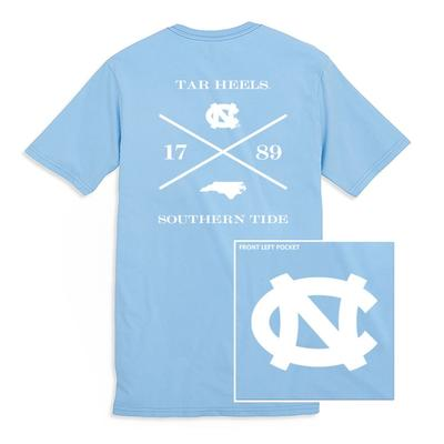 UNC Southern Tide College Cross T-Shirt