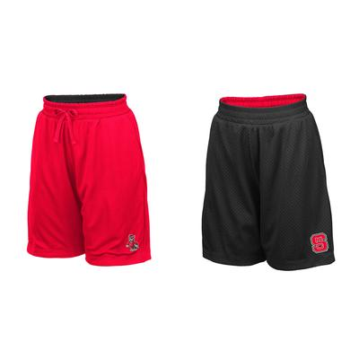 NC State Youth Colosseum Reversible Mesh Shorts