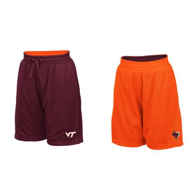 Virginia Tech Youth Colosseum Reversible Mesh Shorts