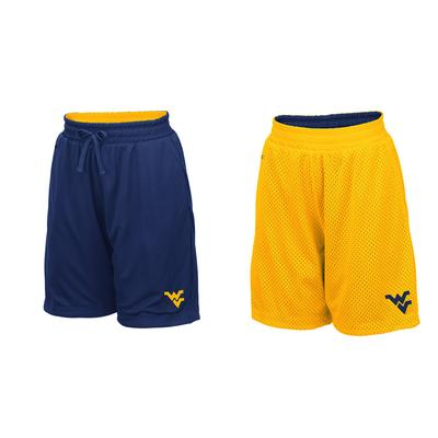 West Virginia Youth Colosseum Reversible Mesh Shorts