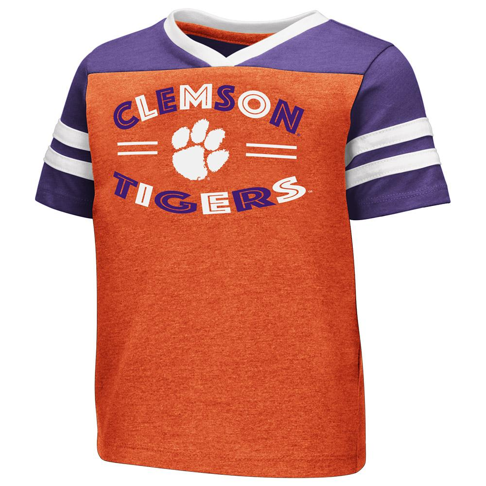 Clemson Toddler Colosseum Good Feathers Tee