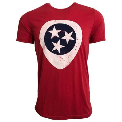 Tri-Star Guitar Pick Triblend T-Shirt