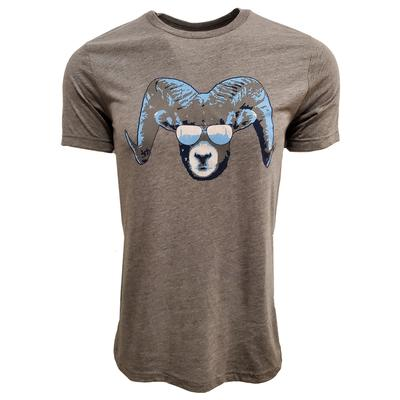 Chapel Hill Ram Triblend Short Sleeve Tee