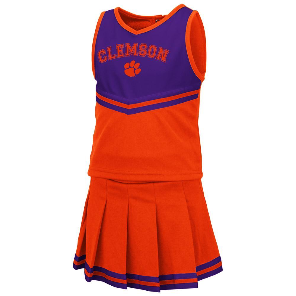 Clemson Toddler Colosseum 2 Piece Cheer Set