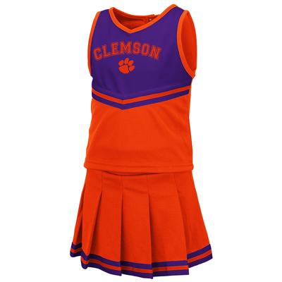 Clemson Toddler Colosseum 2 Piece Cheer Set