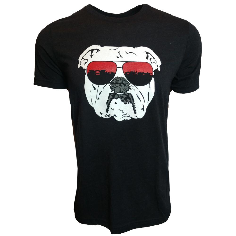 Athens Bulldog Triblend Short Sleeve Tee
