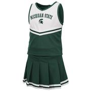 Michigan State Toddler Colosseum 2 Piece Cheer Set