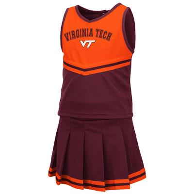 Virginia Tech Toddler Colosseum 2 Piece Cheer Set