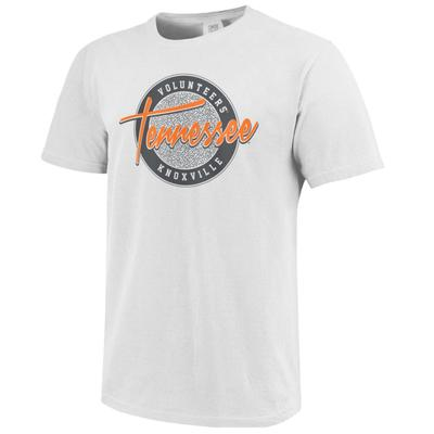Tennessee Throwback Circle Script Comfort Colors Tee