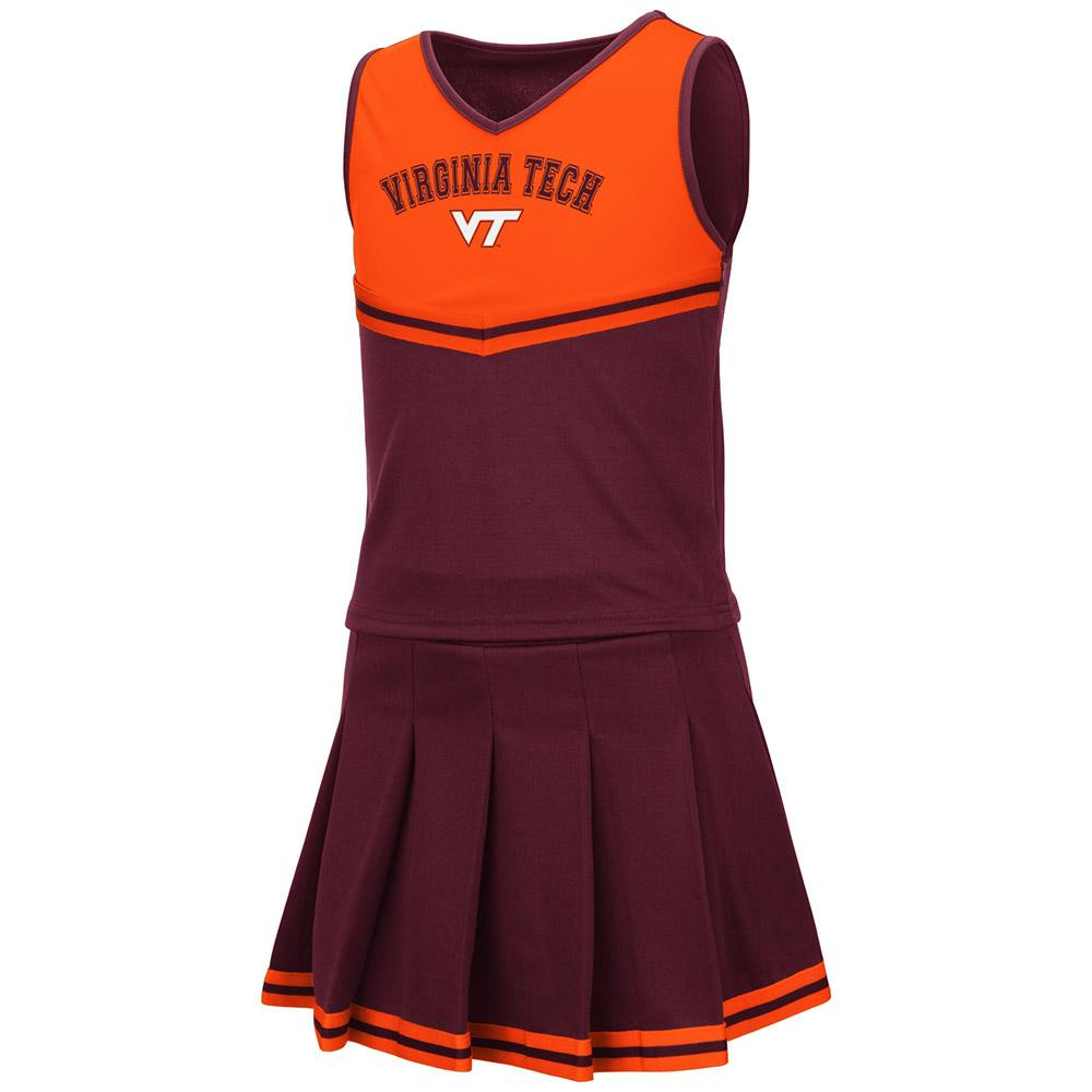Virginia Tech Youth Colosseum 2 Piece Cheer Set