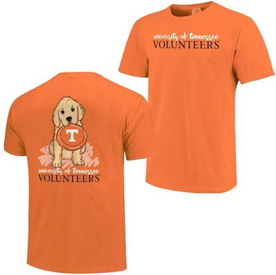 Tennessee Youth Girls Frisbee Dog Tee