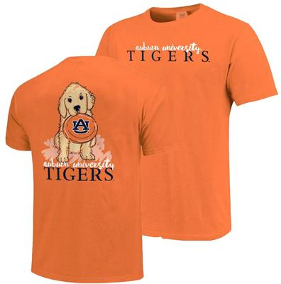 Auburn Youth Girls Frisbee Dog Tee