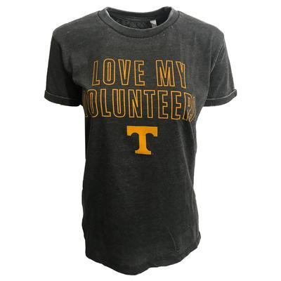 Tennessee Women's Pressbox Love my Vols Tee Shirt