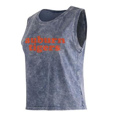 Auburn Chicka-D Cropped College Tank Top