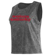 Western Kentucky Chicka- D Cropped College Tank Top