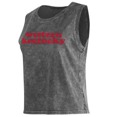 Western Kentucky Chicka-D Cropped College Tank Top