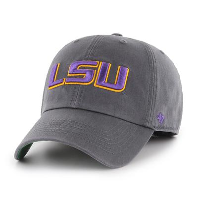 LSU '47 Charcoal Franchise Hat