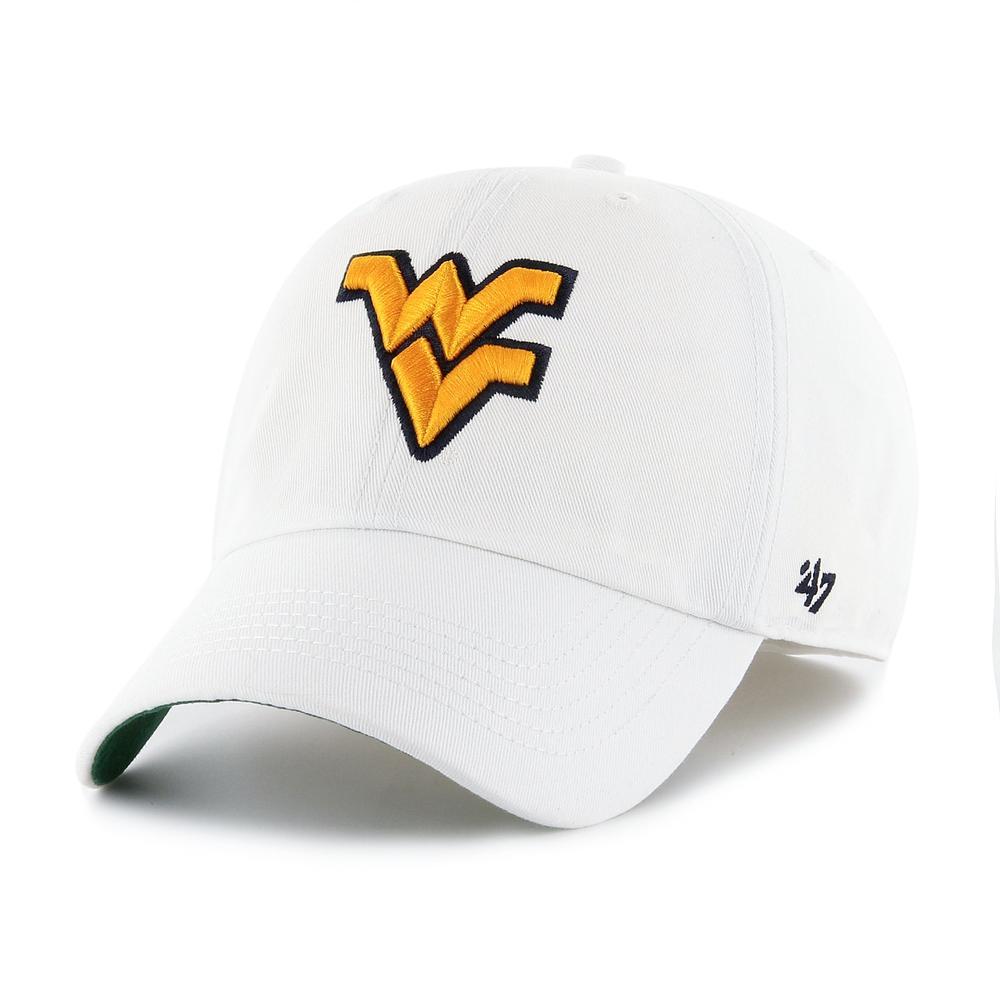 West Virginia ' 47 White Franchise Hat